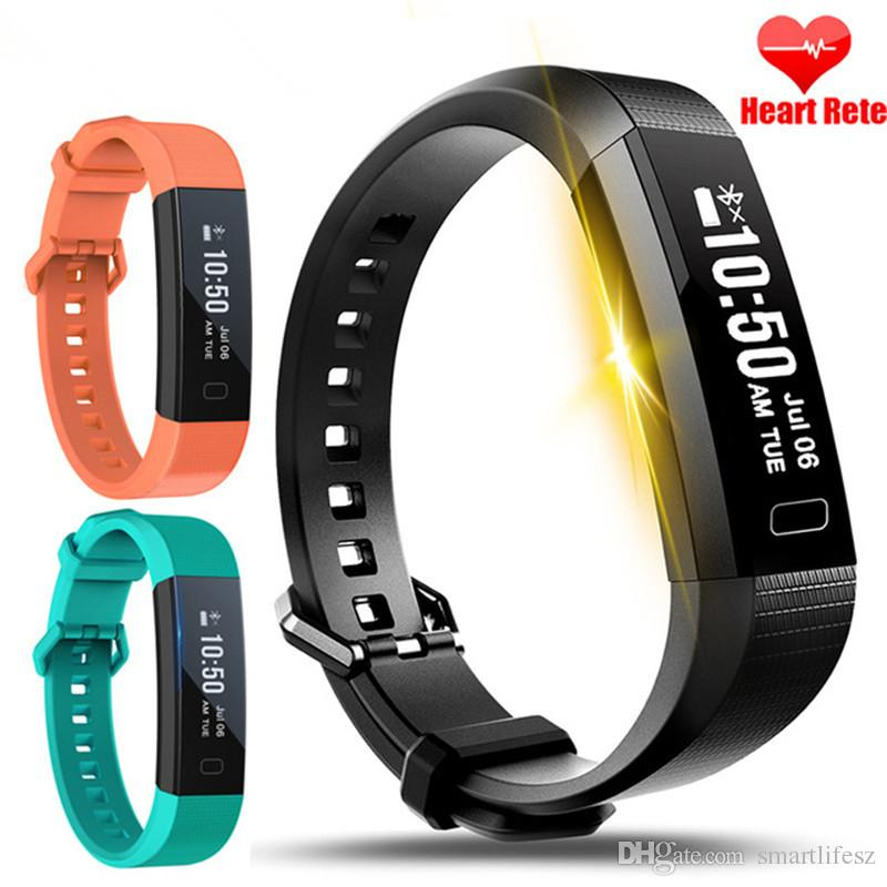 Y11 Fitness Smart Bracelet Heart Rate Monitor With Easy Usb Charging