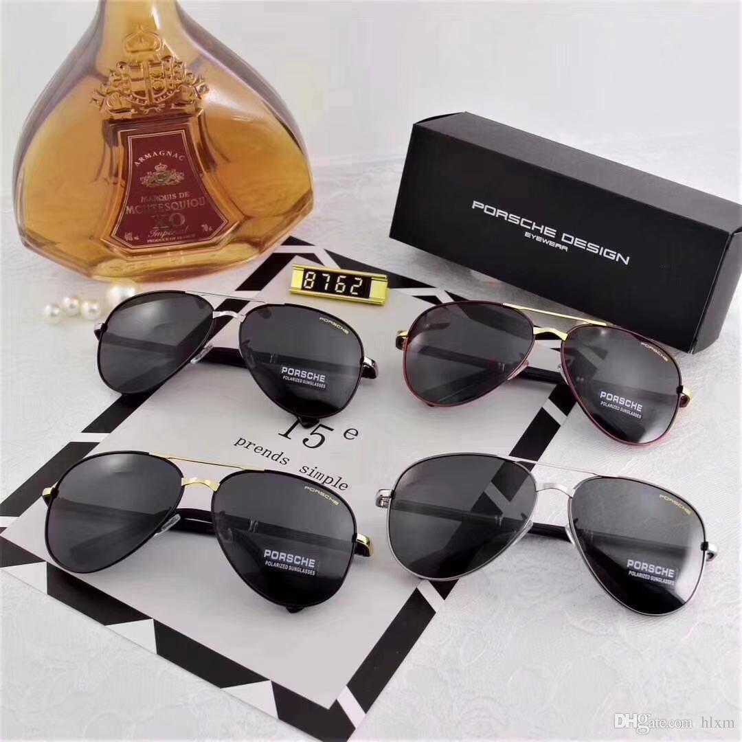 790a7e032cf Summer 2018 New Men S Polarized Sunglasses Large Frame Polaroid High  Definition Lenses Model 8762 Fashion Designer Glasses Sunglasses Uk From  Hlxm