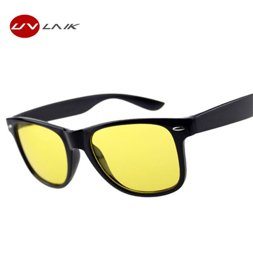 695d008e7e1 Cheap UVLAIK Night Vision Goggles Sunglasses Women Men Brand Designer Female  Male Driving Sun Glasses Yellow Lenses Women s Glasses