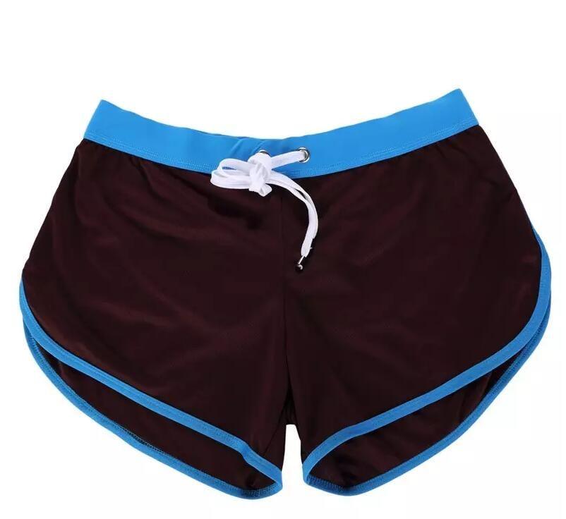 new style Boxer Briefs Men's Swimwear Trunks Sports Wear Sexy Short Beach Summer Pants Mens Swimsuit
