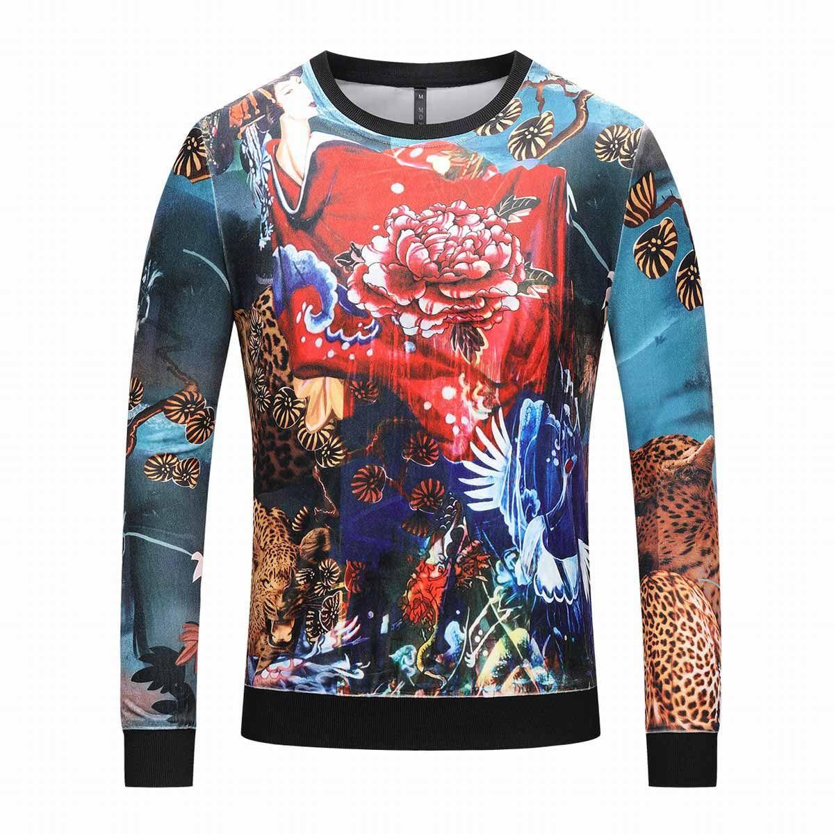 393f11f0c27 Men s Brand Hoodie Light Wool Sweatshirt Fashion Print Hooded ...