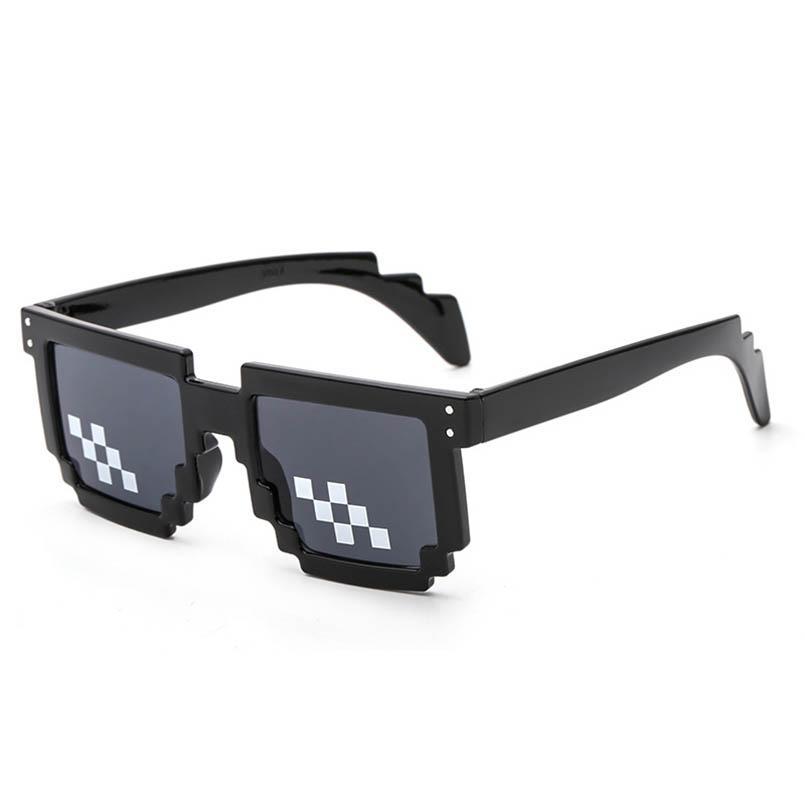 e24e6a52ffc AOXUE 2018 Glasses 8 Bit MLG Pixelated Sunglasses Men Women Brand Thug Life  Party Eyeglasses Mosaic Vintage Eyewear UV400 Designer Glasses Sunglasses  Uk ...
