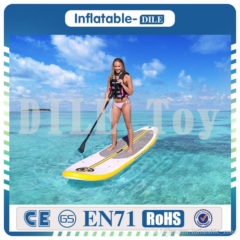 330 75 10cm  11 Feet Inflatable Surfboard Stand Up Paddle Board Inflatable  Surf Board Sup Paddle Boat UK 2019 From Inflatable zone 54c2e1529