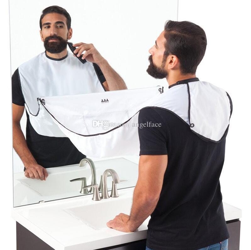 2 Renk Adam Banyo BeaMale Banyo Sakal Önlük Tıraş Önlükleri Sakal Bakımı Temiz Catcher Yeni Yıl Hediye Baba Erkek Arkadaşı Kardeş Önlüğü Giyotin