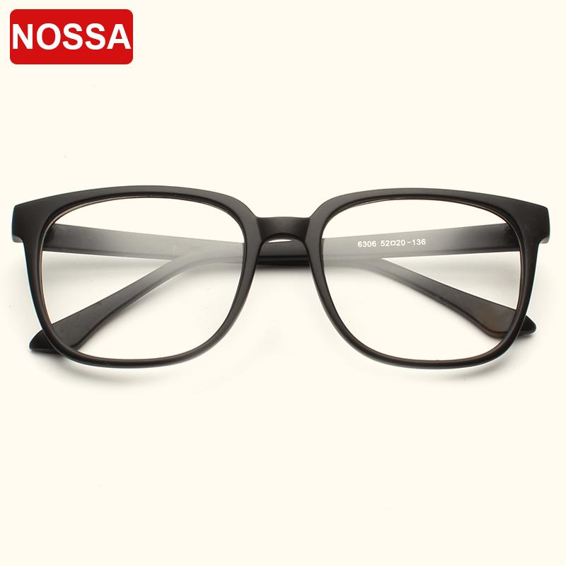 2018 Nossa Brand Vintage Square Optical Glasses Frames Male Female ...