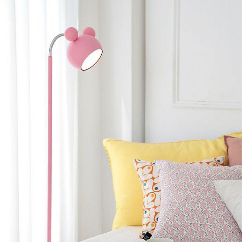 2018 japanese style pink floor standing lamp tall piano light kids 2018 japanese style pink floor standing lamp tall piano light kids led floor lamp girl princess study reading lights lambader from samanthe aloadofball Images