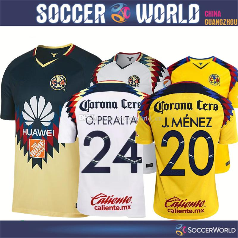 2018 mexico club america soccer jersey club america jnez c 2018 mexico club america soccer jersey club america jnez cminguez dinez soccer shirts 17 18 oralta william football shirt size s 2xl from fandeluxe Choice Image