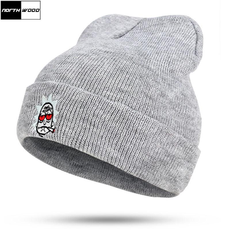 5b2c4dabb20eb 2019 NORTHWOOD Fashion Women S Winter Hat Mens Beanies For Ladies Hip Hop  Knitted Cap Beanie Hats From Brandun