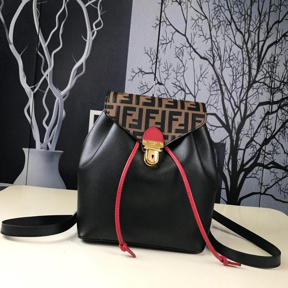 Women BACKPACK New Ladies Backpack Fashion Double F Fashion Bag Women  Designer Bag Women Backpack Bag Women Brand Bag Online with  185.63 Piece  on Sanxun8 s ... 5cc6b64e4b130