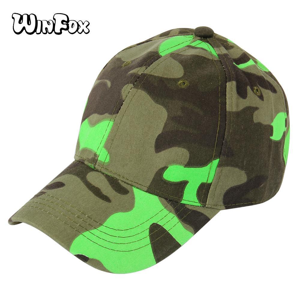 78e3cf46 Winfox Casual Unisex Camouflage Baseball Cap Snapback Hat Hip Hop  Adjustable Dad Hat Trucker For Women Men Outdoor Sport Hats Design Your Own  Hat Make Your ...