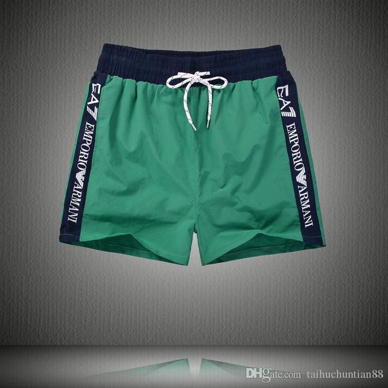 1f61eef6785f Pantalones de verano para niños Nuevos trajes de baño para hombres  Pantalones cortos Bermuda Masculina Boardshorts Surf Swim Shorts para  hombres Ropa ...