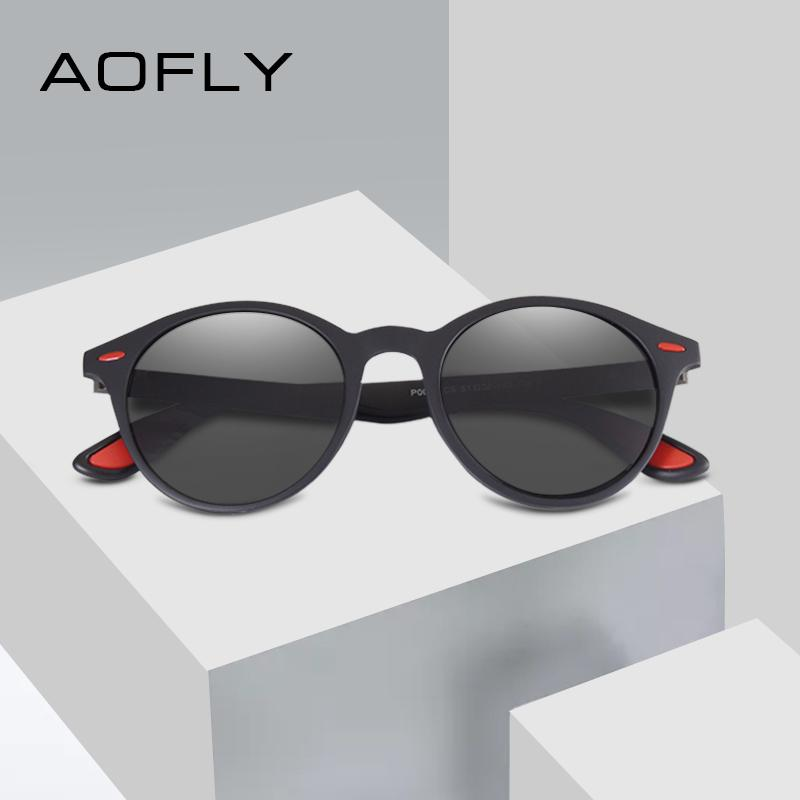 4b8b63c773 AOFLY BRAND DESIGN Men Sunglasses Polarized Oval Frame Sunglasses Women Men  Vintage Unisex Goggles Oculos De Sol AF8112 Mirror Sunglasses Boots  Sunglasses ...