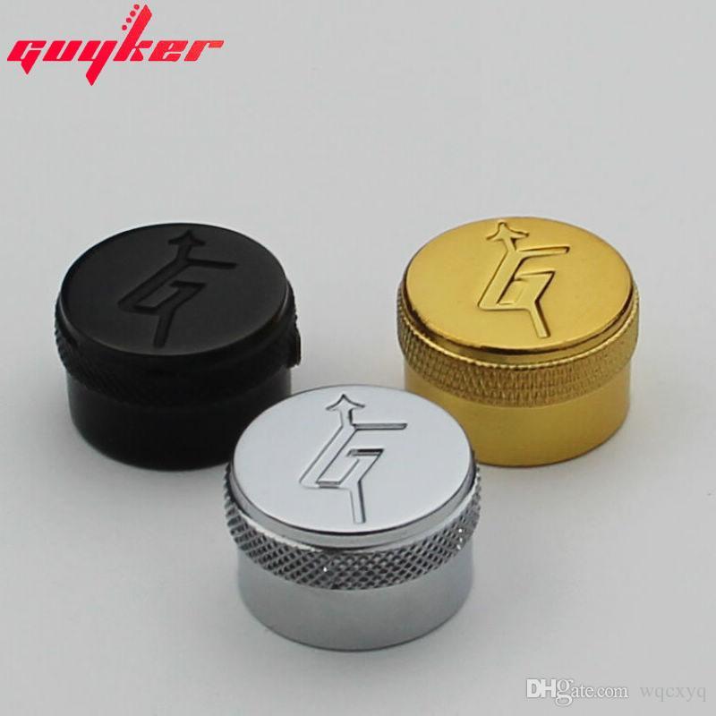 Three colors knob
