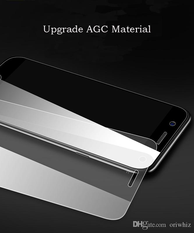 0.33mm For Oppo R9SP R11P R11S R11 R7 R7S Mobile Tempered Glass Screen Protector Cell Phone Protective Film for Mobile