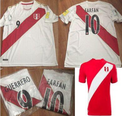 06167637c5e 2019 Custom Name Number, World Cup 2018 Camiseta GUERRERO FARFAN FLORES  Futbol Away Red Peru Soccer Jerseys 2019 Peruvian Football From  Aaron_worldjerseys, ...