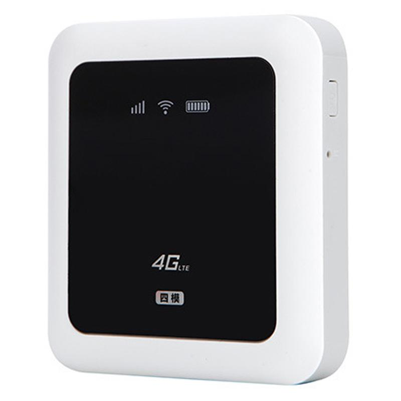Portable 5200mAH Power Bank Wireless Router 100Mbps 3G/4G LTE Mobile Wifi  Hotsport SIM Card Travel Wifi Router to 10 users