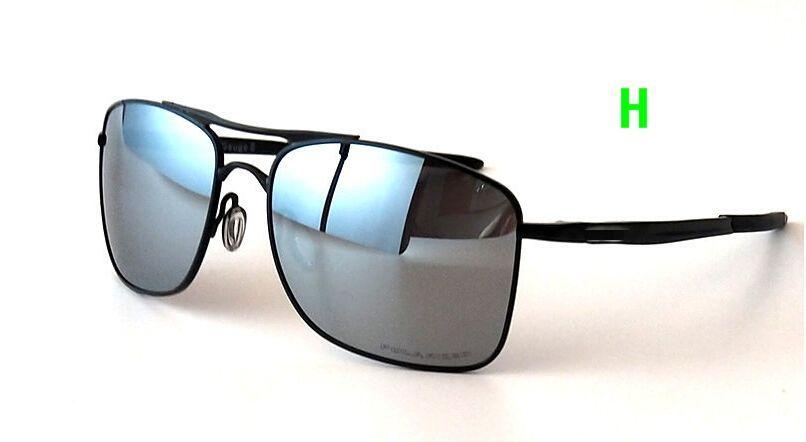5a44b821199b New Men Cycling Eyewear Polarized Lens Aolly Metal Black Frame 4124 ...