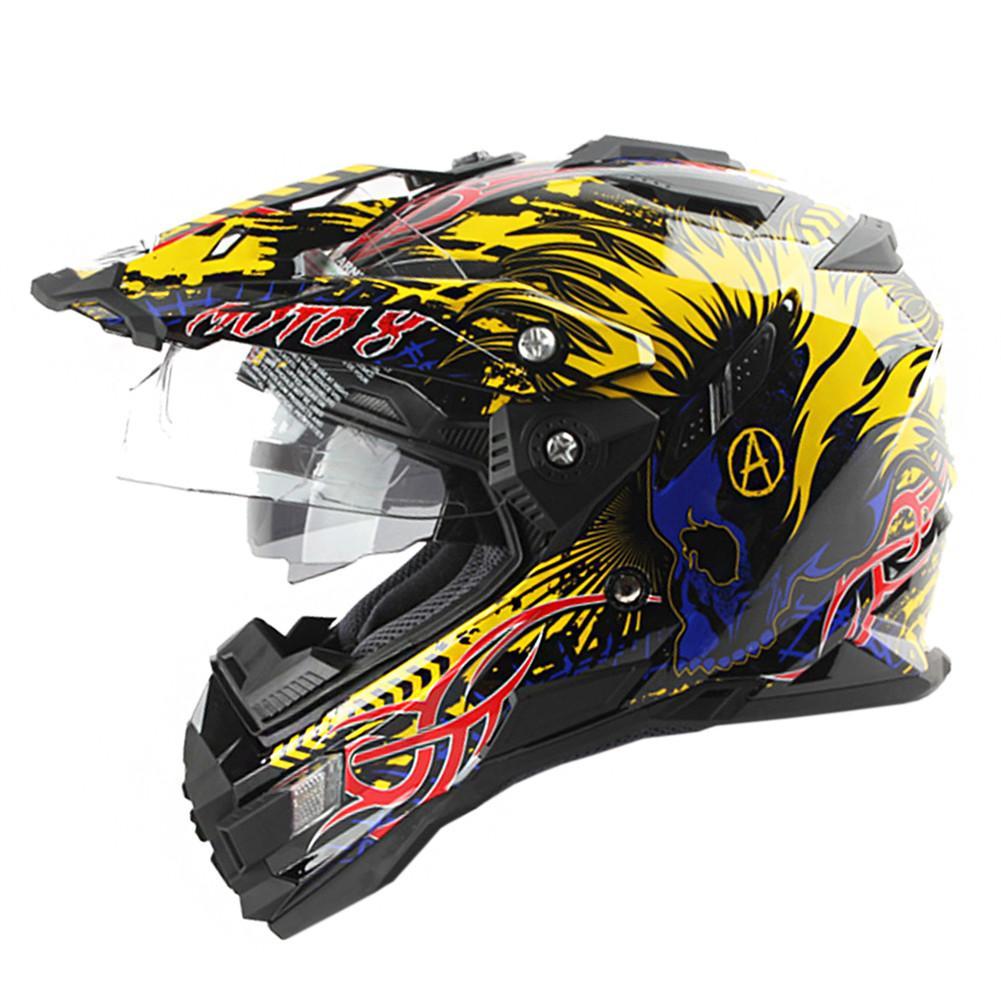 983649c6 THH Dual Sports ATV Motorcycle Motocross Helmet Racing Casque Casco Moto Es  De Motociclista Off Road Dirt Bike Helmets Cheap Custom Motorcycle Helmets  Cheap ...
