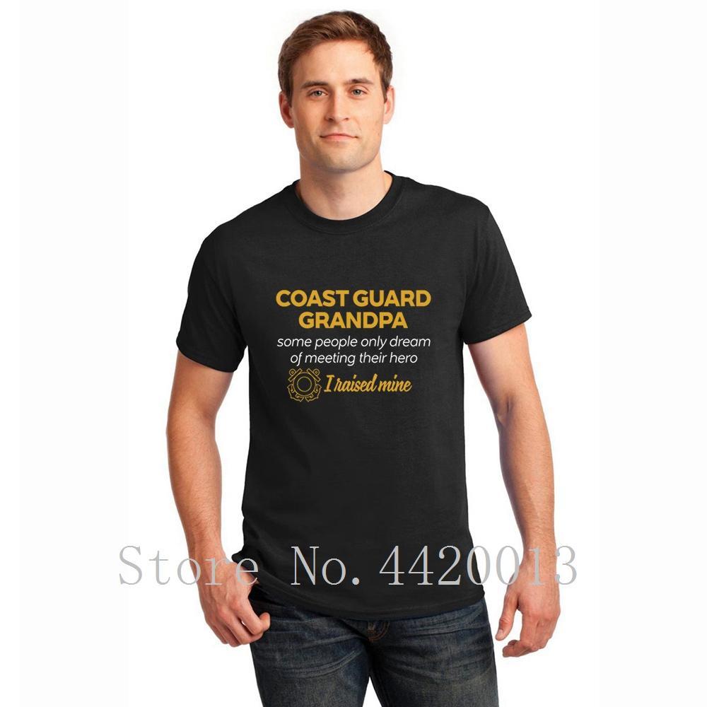 Disegni Di Cotone Tondo Collar Guardia Persone Grandpasome Sogno Di Abbigliamento Estate Stile Kawaii Pop Top Tee Maglietta Per Gli Uomini