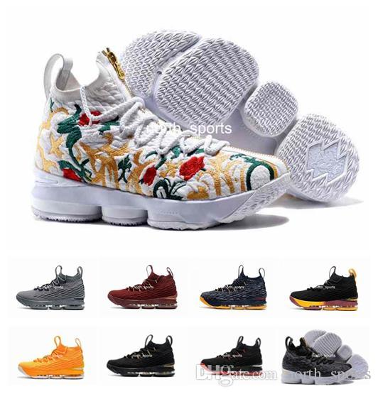 2018 New Style Leb 15 Men Basketball Shoes Ron Shoe Arrival Sneakers