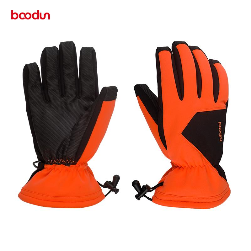 2019 BOODUN Windproof Waterproof Ski Gloves Non Slip Women Men Outdoor  Sports Warm Snow Winter Snowboard Snowmobile Skiing Gloves From  Mangosteeng e16e0dca4ac2