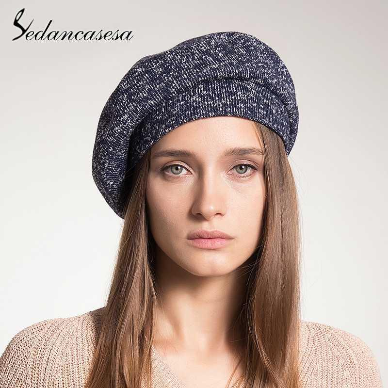 Großhandel Sedancasesa 2018 Neue Marke Mode Frauen Beanie Hut Casual ...