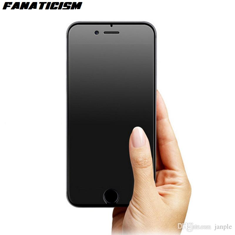 Fanaticism Matte Tempered Glass Screen Protector For iphone X 6 6s 7 8 Explosion Proof Film Anti-Glare Frosted Tempered Glass