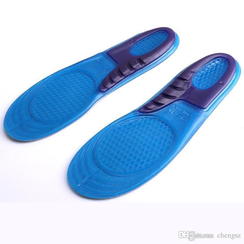 Erkekler Kadınlar Silikon Jel Ortez Arch Destek Masaj Spor Ayakkabı Tabanlık Run Pad Taşıması Kolay