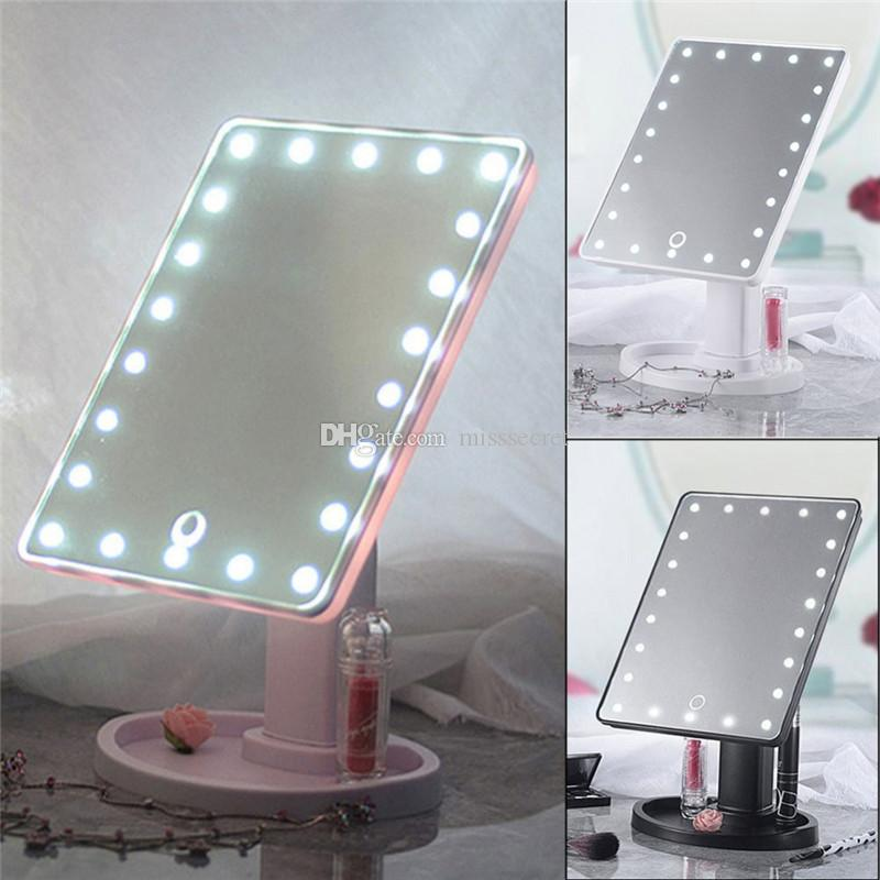 Specchi Professionali Per Trucco.22 Specchi Per Trucco Touch Screen A Led Specchi Per Controsoffitto Professionali A 360 Orientabili Professionali