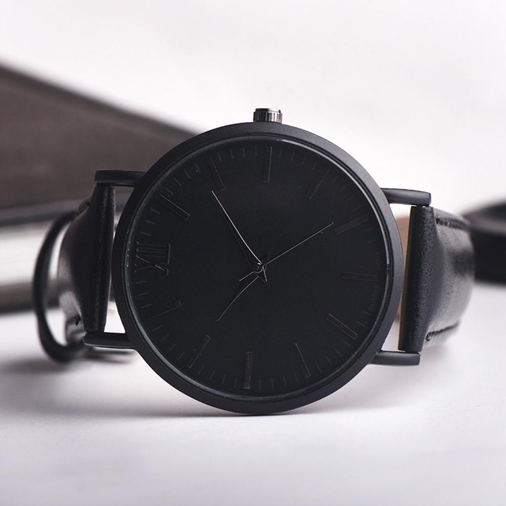 c011a1eec6a5 Men Leather Band Analog Quartz Round Wrist Watch Watches Simple Men S  Leather Belt Analog Quartz Round Watch Men S Watches Buy A Watch Online  Watch Shopping ...