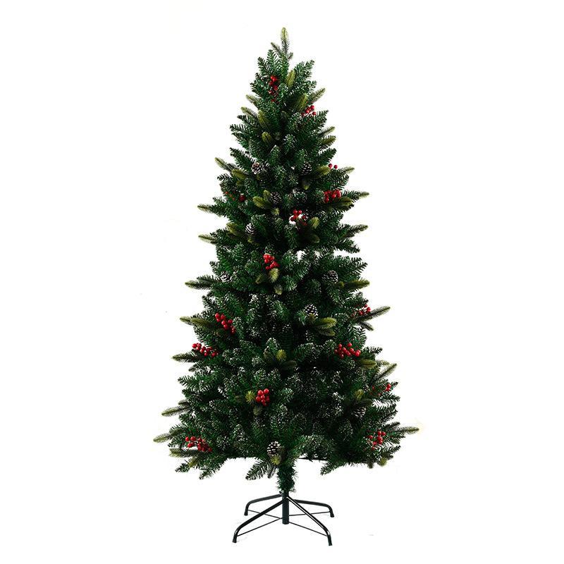 198d4a35b4488 Compre Árbol De Navidad De Moda Tienda De Navidad Decoraciones De Ventana  Kerst Decoratie Pineal Adornos Rojos Árbol De Navidad Verde Grande A   139.05 Del ...