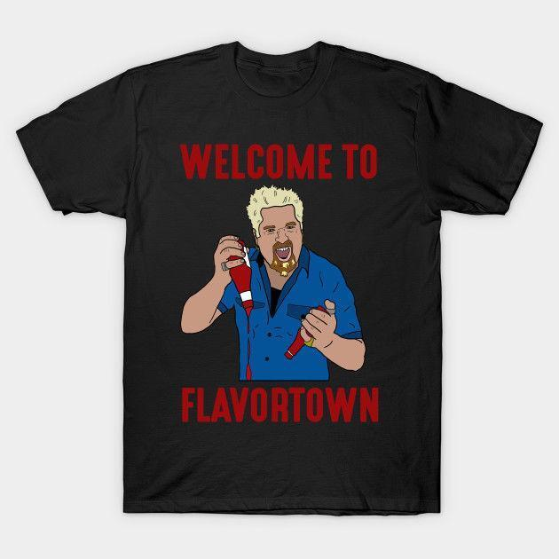 4418add7 Flavortown Guy Fieri T Shirt Tees Clothing One Day T Shirt Best Site For T  Shirts From Linnan00009, $14.67| DHgate.Com