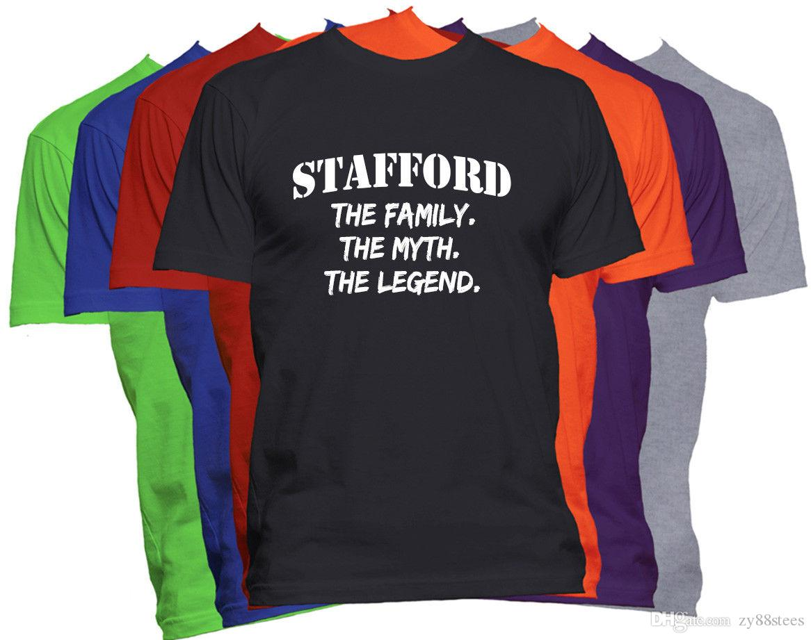 Stafford Last Name Shirt Custom Name Family Reunion Family Name T