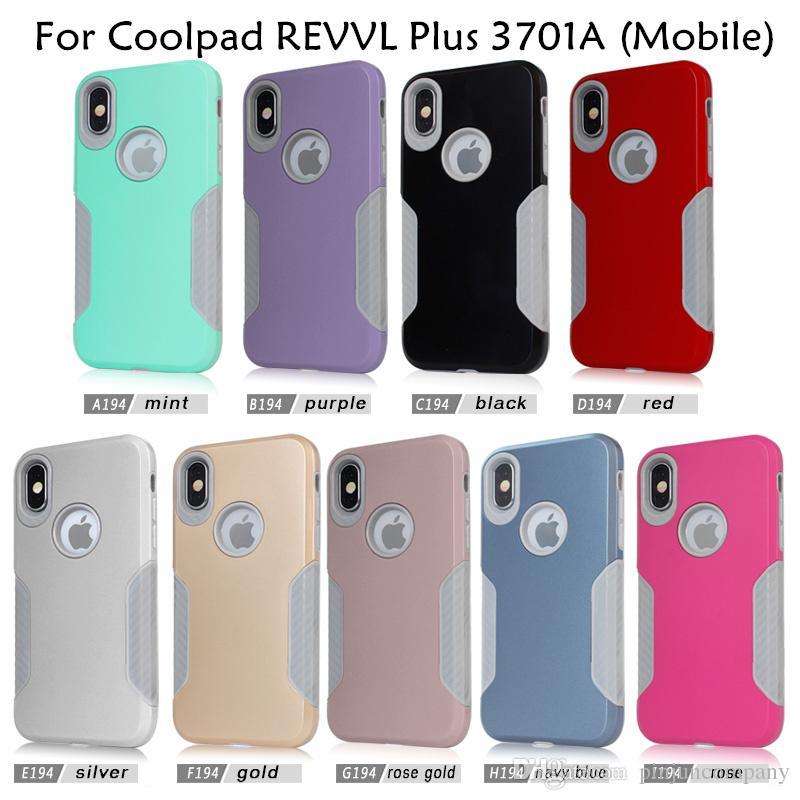 100% authentic bb74a f77d4 Hybrid Armor case For Coolpad REVVL Plus 3701A Mobile For Alcatel A30  Fierce 2017 MetroPCS Carbon Fiber Captain Case phone Cases