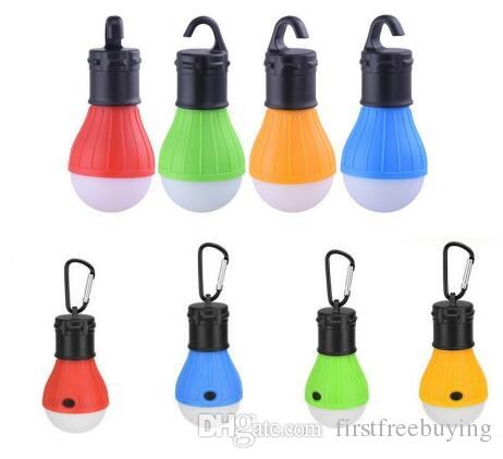 1 Pc/Lot Soft Light Outdoor Hanging LED Camping Tent Light Bulb Fishing Lantern lighting Lamp