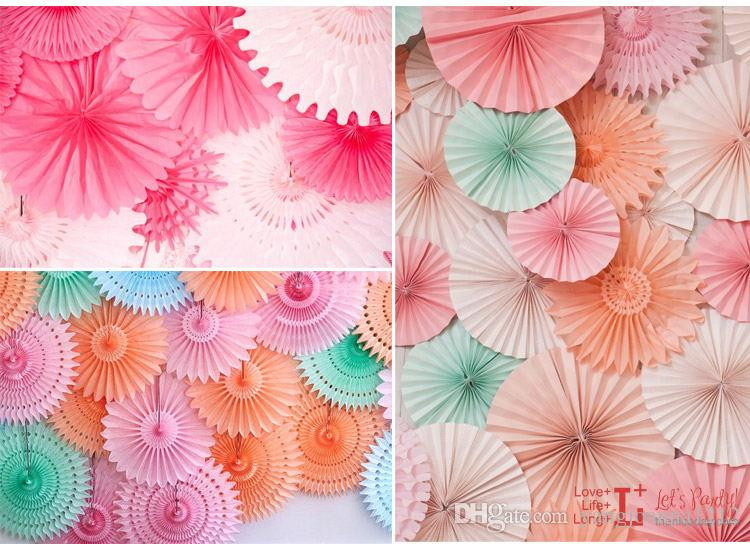 Party Holiday Decoration Wedding Room Wall Decor Tissue Origami