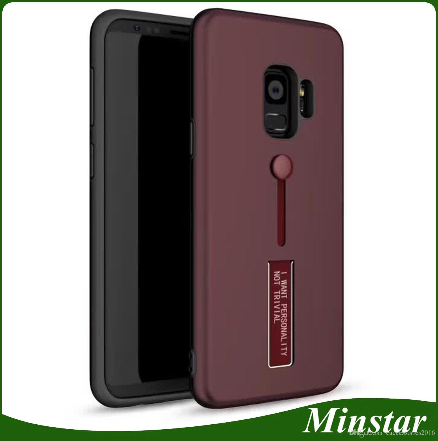 Rubber Ring Cover Shockproof Case For Samsung S9 S9 Plus S8 S8 Plus J7 Prime 2017 Usa Vertion Case Make Your Own Phone Case Cell Phone Cases From