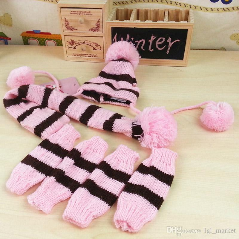 New Dog Pet Puppy Hat Cat Cape Scarf Leg Warmer for Petalk Teddy Chihuahua Small Pet