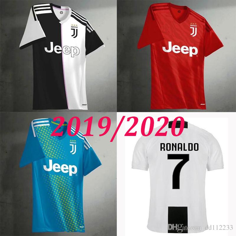 54862c437 2019 2020 RONALDO JUVENTUS Soccer Jersey 18 19 20 JUVE Home DYBALA HIGUAIN  MANDZUKIC D. Costa BUFFON BUFFON Camisetas Football Shirt SIZE S XL From  Dd112233 ...