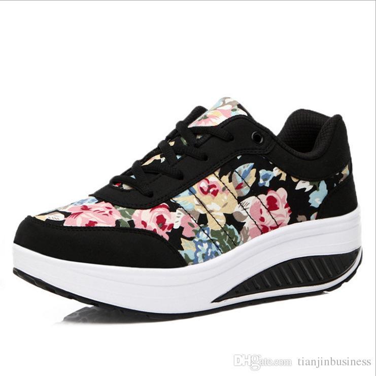 e47bab248b9226 Acquista Calzature Sportive Sneakers Alte A Piattaforma Donna Sneakers Alte  A Piattaforma Da Donna. Sneakers Alte Da Donna A $28.15 Dal Tianjinbusiness  ...