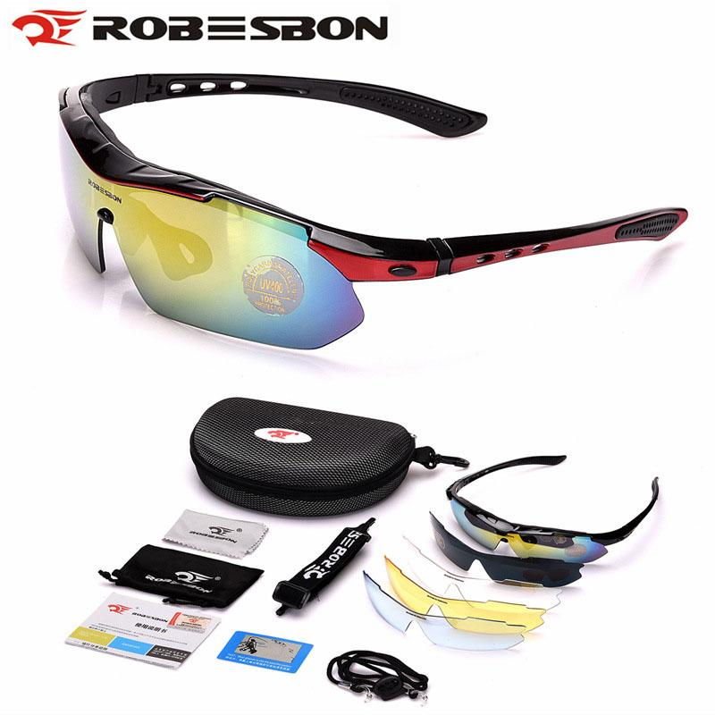 4dd4c1e17d ROBESBON Polarized Cycling Glasses Unisex Anti-uv Bike Sport ...