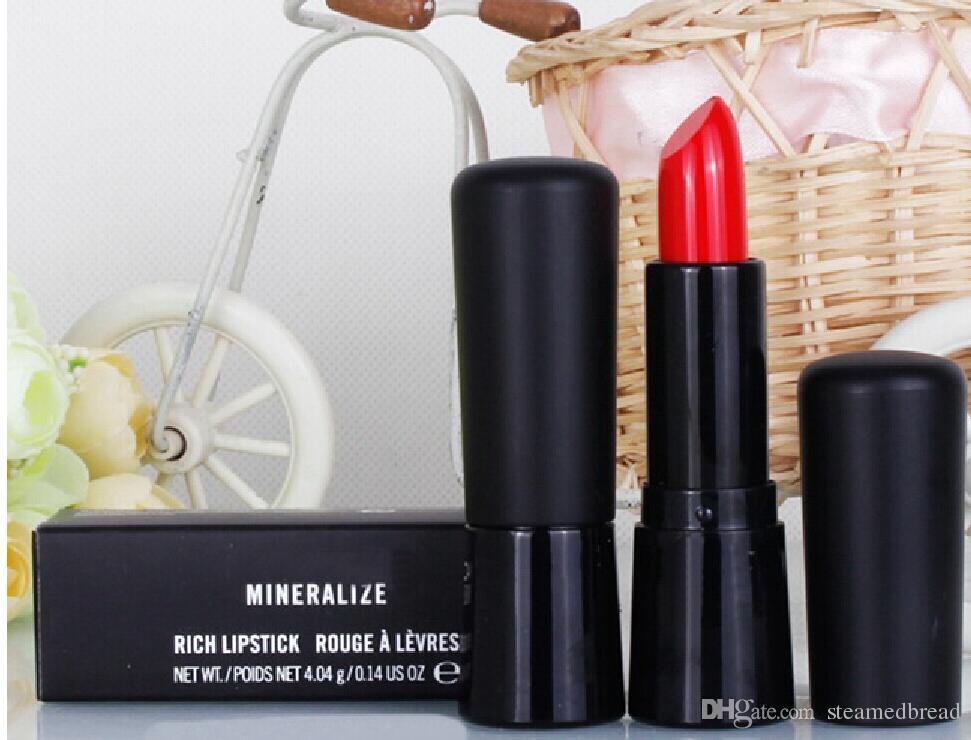 24 PZ Hot NOVITÀ New Makeup Minima Best-Selling buona vendita Nuovi MINERALIZZA RICH LIPSTICK ROUGE A LEVRES 4.04g