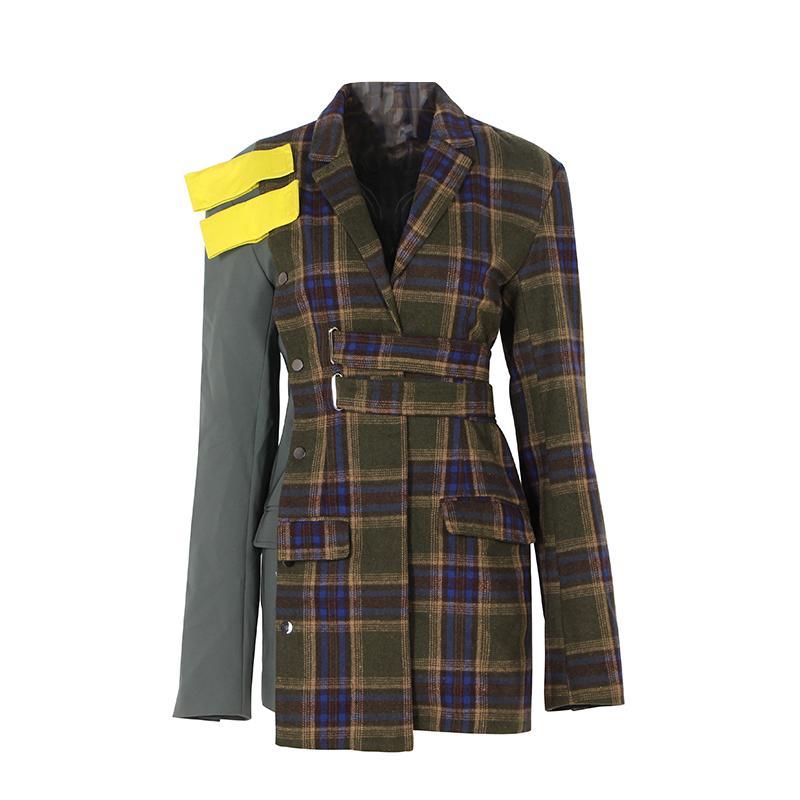Blazer Vintage Stilvolle Snake Print Blazer Mantel Frauen 2019 Mode Kerb Kragen Mit Langen Ärmeln Damen Oberbekleidung Casual Casaco Femme