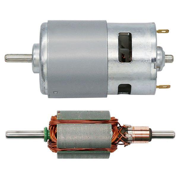 DC 12V 775 Motor 3500rpm DC Large Torque Motor Gear Motor