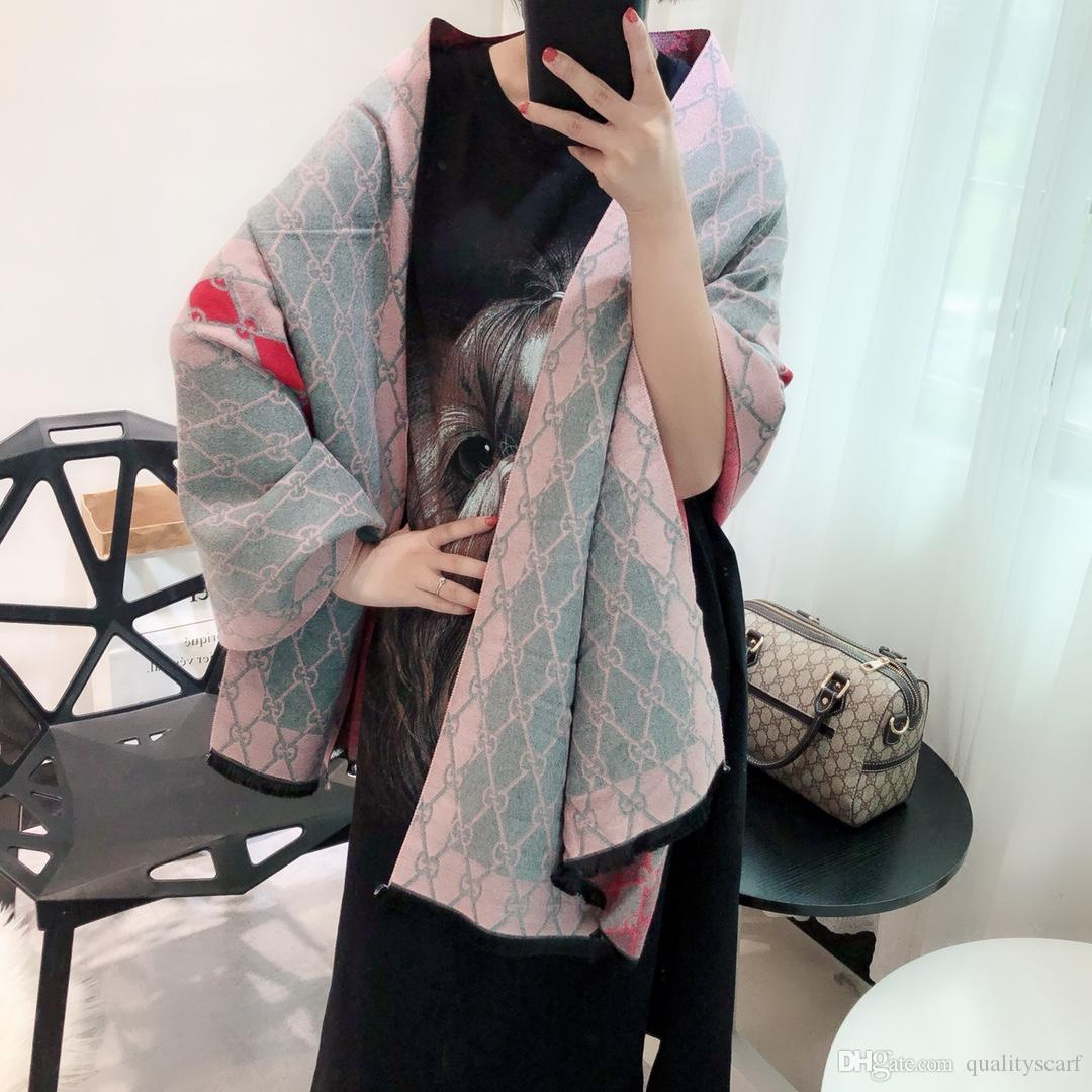 d7a7e8d4a Double Side Women Winter Long Warm Cashmere Square Shawl Italy Joker  Blanket Pashmina Shawls 180*70cm Winter Scarves Blanket Scarves From  Top_scarf_ztl, ...