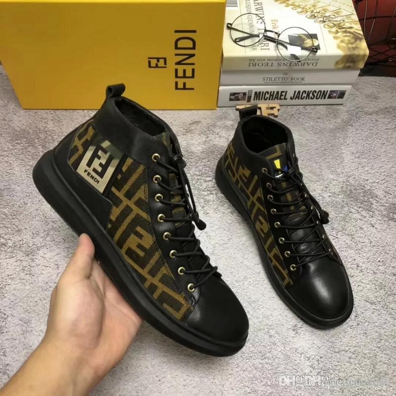 dc16a5a9769 18ss New Design Brand Rivets Casual Shoes For Men And Womens ...