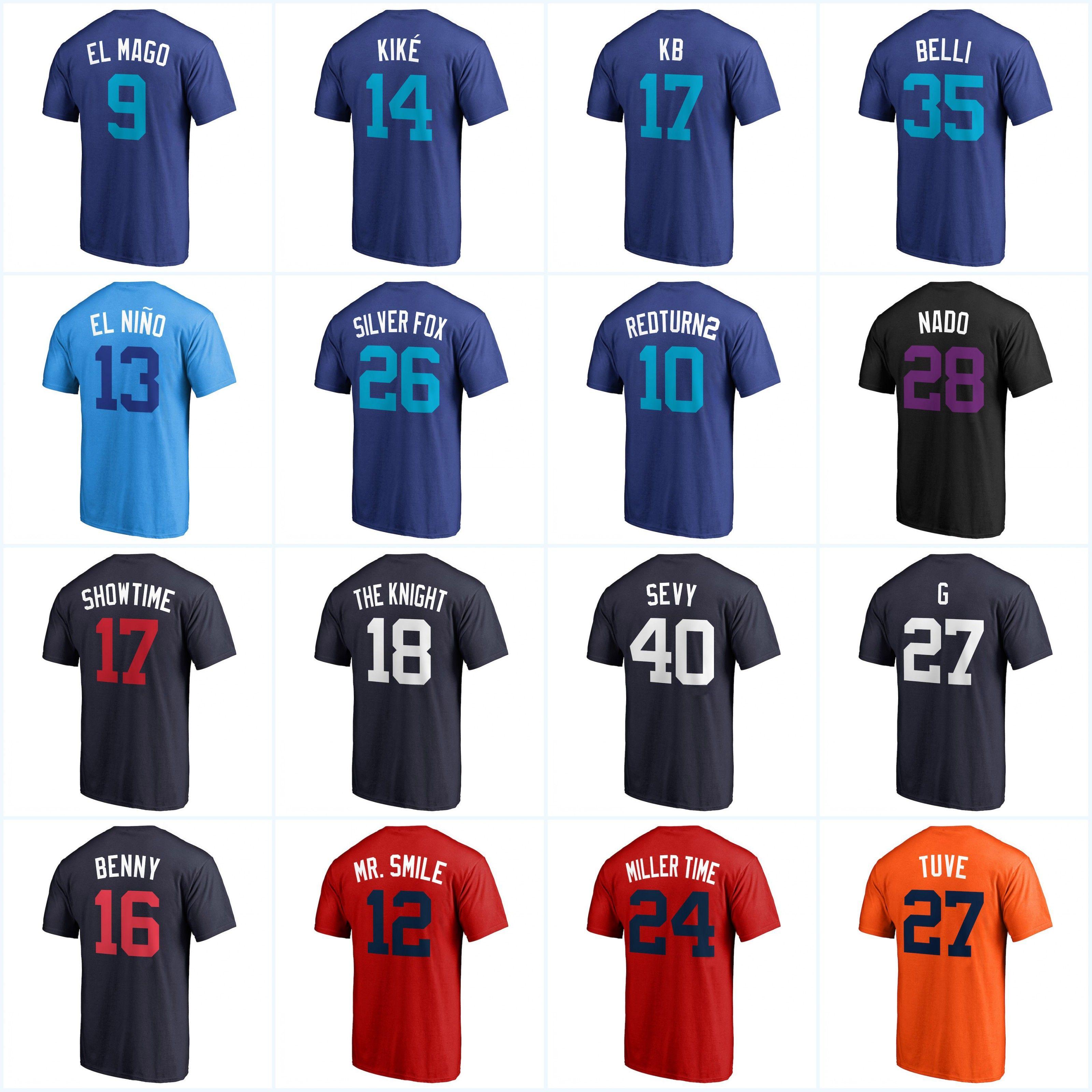 fe45b23ffdb 2018 Players Weekend Nickname T-shirts 17 Bryant