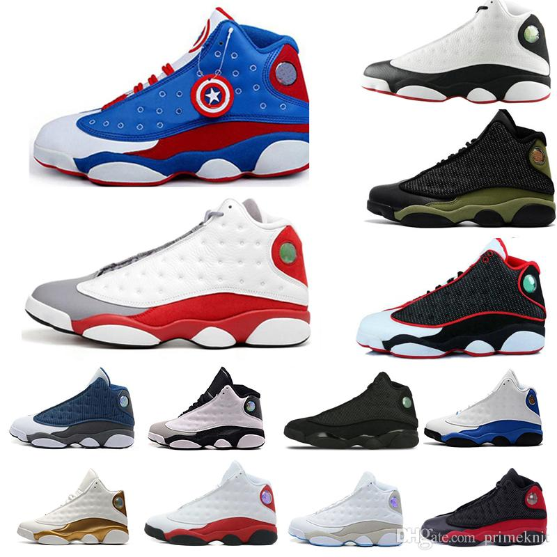 261b16debc0 Top Quality Jumpman Cheap NEW 13 13s Men Women Basketball Shoes Bred Flints  Black Sneakers Sports Trainers Mens Shoes 13s Size 5.5 13 Shoes Jordans  Sneakers ...