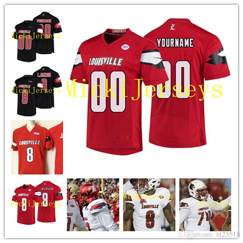 NCAA Louisville Cardinals Geron Christian College Football Jersey James  Hearns Drew Bailey Stacy Thomas Chucky Williams Louisville Cardinals UK  2019 From ... 11612a165