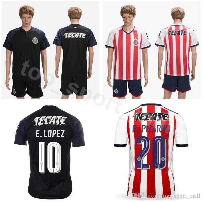 f0f0ea19009 CD Chivas Guadalajara Soccer 20 Rodolfo Pizarro Jersey Men Camiseta ...